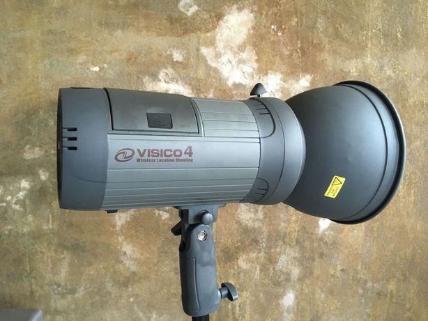 Flash de estúdio a bateria Visico 4 - RESERVADO