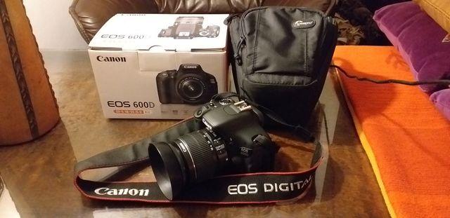 Canon eos 600D jak nowy