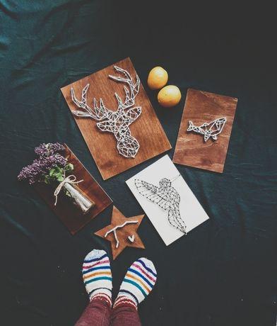 String art , Handmade