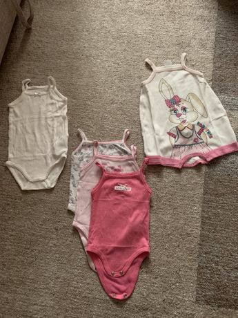 Набор летних боди- маячка для девочки