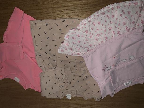 Ubranka dla dziewczynki 68-74cm. Wysyłka Gratis