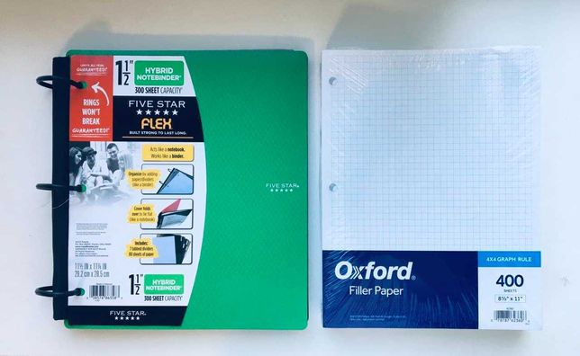 NoteBinder (Папка\Блокнот)  + Бумага 400 шт | СКИДКА 20%