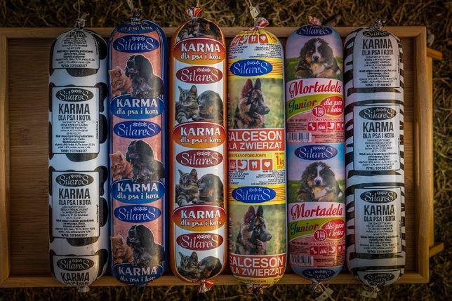 Karma dla psów i kotów Batony mięsne PRODUCENT