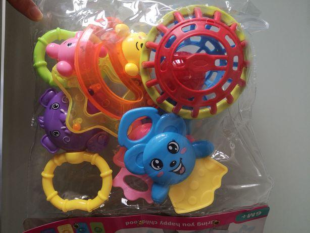 Набор погремушек,грызунки, набор игрушек погремушек
