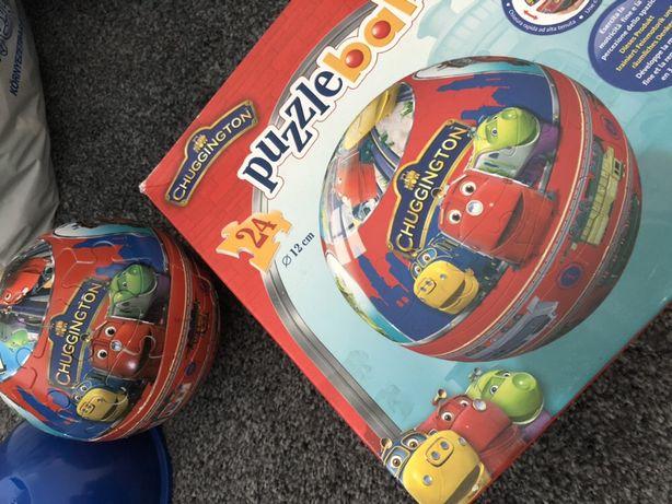 Stacyjkowo puzzle puzzleball ball kula piłka chuggington