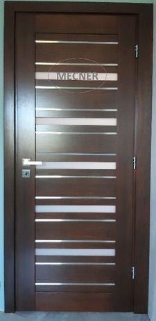Drzwi wewnętrze drewniane