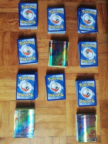 Pack de 33 cartas pokémon