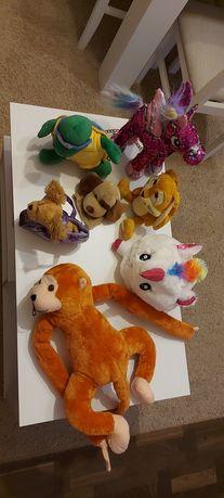 Maskotki auto dla małych lalek klocki