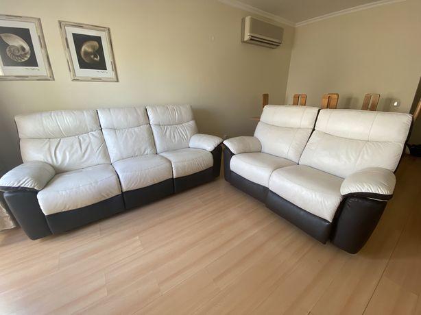 Conjunto de 2 sofas eletricos