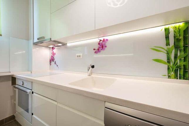 Szkło na wymiar, szkło w kuchni, lacobel, grafika, hartowanie, lustra