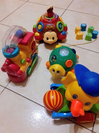 TANIO! Super zabawki. 4 Sztuki. Interaktywne i inne.