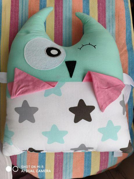 Подушки бортики в кроватку для ребенка