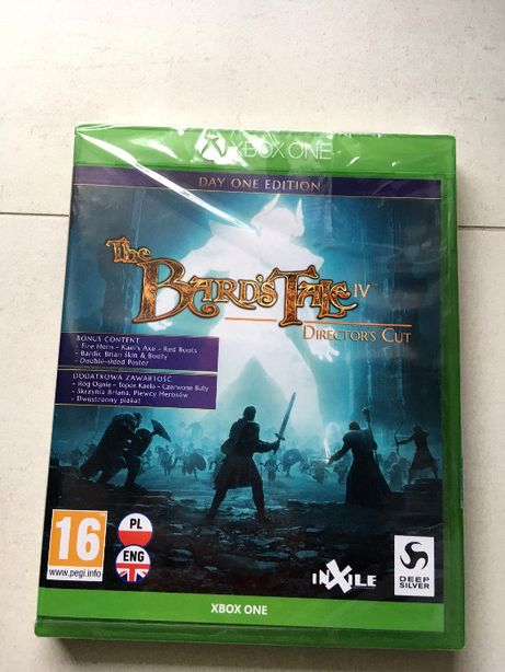 Gra Xbox One - The Bard's Tale IV - Director's Cut - PL - NOWA, FOLIA