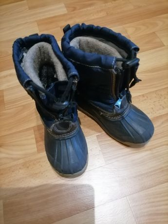 Детские сапоги ботинки зимние сноубутсы canadian 27-28 размер дутики