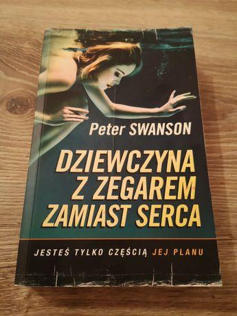 Książka Dziewczyna z zegarem zamiast serca Peter Swanson