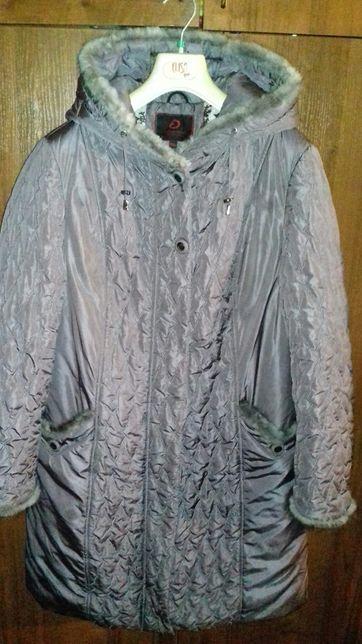 Женская куртка Assener 50-52 размер сиреневый цвет.