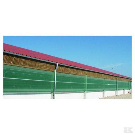 Tkanina/ siatka przeciwwietrzna/ wiatrochronna wymiar 1,5x25 m