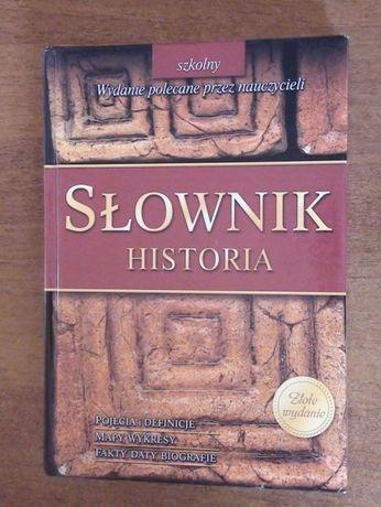 Książka - Słownik Historia