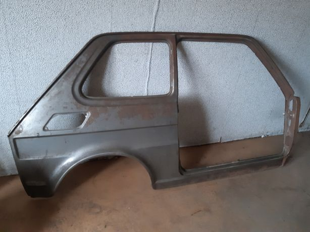 Błotnik maluch, poszycie boczne, próg Fiat 126p