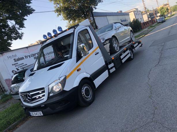Pomoc Drogowa Laweta Transport  el.długich (13m) Dłużyca Kłonica Slask