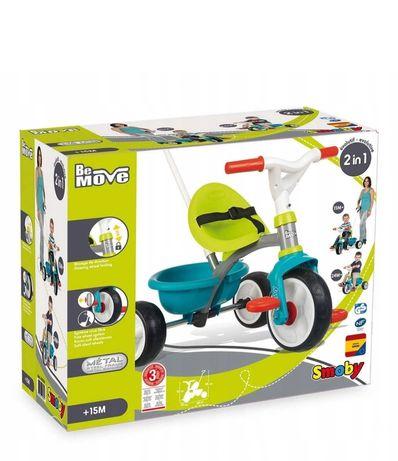 Nowy rowerek trójkołowy trzykołowy dla dziecka Smoby dziecięcy be move
