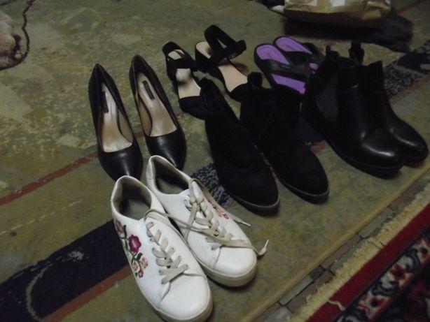 Buty damskie rozm 38 zestaw 6 par - po 6 zł para kupując całość