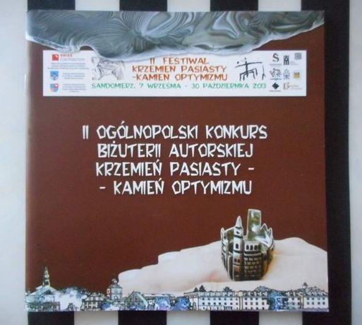 Katalog biżuterii. II Festiwal krzemień pasiasty. Kamień optymizmu.