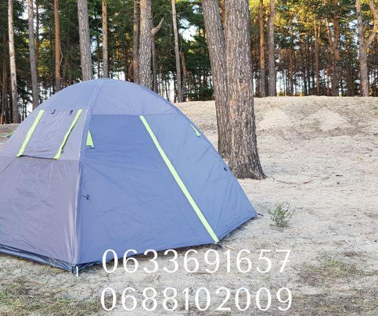 Туристическая палатка двухместная (2х слойная) от Американского бренда