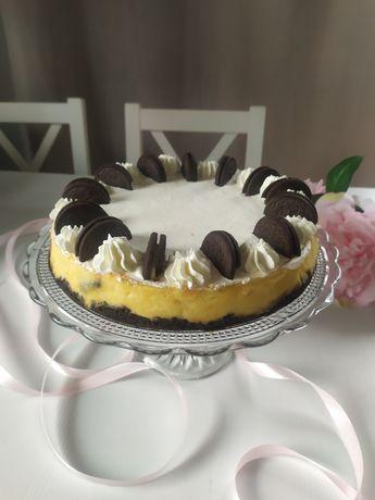 Ciasto sernik Oreo