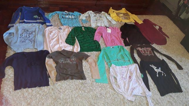Lote de mais 50 peças roupa, tamanho S/M