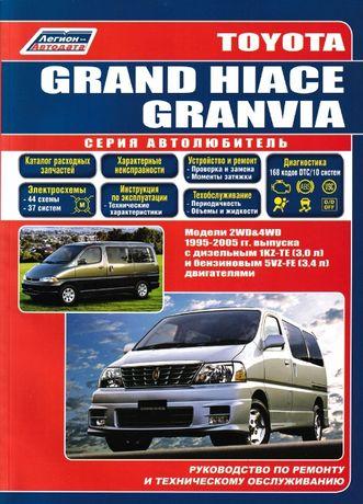 Toyota Grand Hiace / Granvia. Руководство по ремонту и эксплуатации.