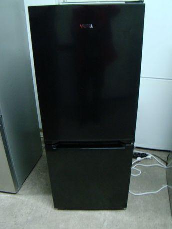 Lodówka czarna 136cm jak nowa