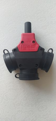 Rozgałęziacz potrójny, gumowy PCE typ 243 IP44