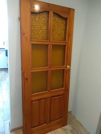 Drzwi drewniane ...