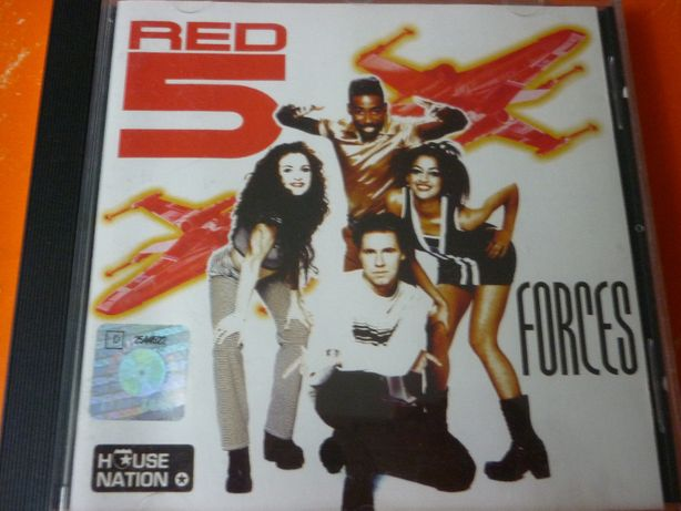 """Płyta CD Red 5 """"Forces"""" 1997 r. House Nation"""