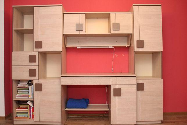 Kpl. Meble komoda szafka łóżko dziecięce stan idealny