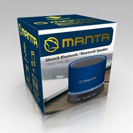 Głośnik Bluetooth MANTA SPK 411 PRO BL radio FM