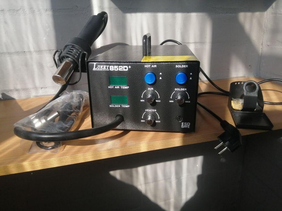 Термовоздушная паяльная станция Lukey 852D+ с паяльником Каменское - изображение 1