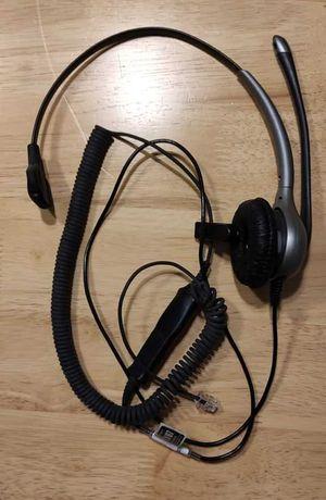 Słuchawka z mikrofonem Plantronics HW351 SupraPlus Wideband