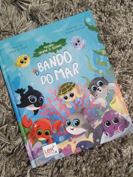 Livros Bando do Mar - Pingo Doce - NOVO
