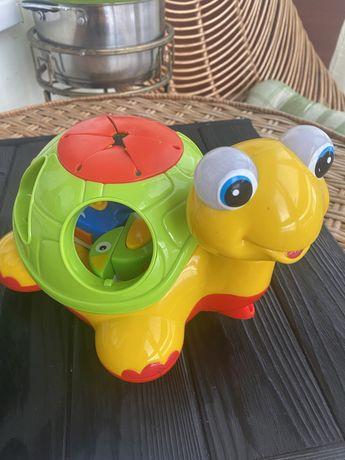 Каталка -сортер Черепаха -знайка