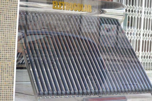 Painel Solar tubos de vácuo pressurizado (atenção)sistema HEAT PIP