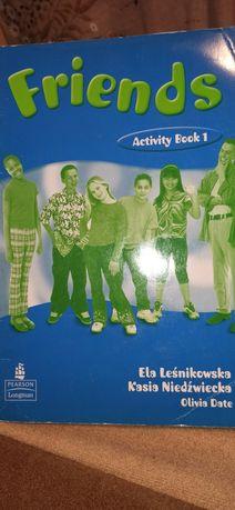 Рабочая тетрадь Friends Activity Book 1