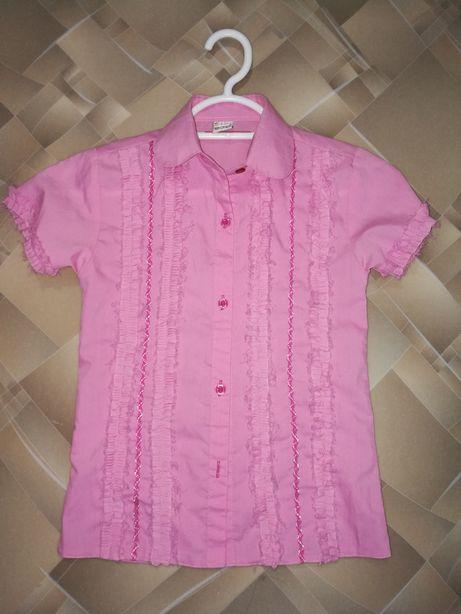 Блузка на девочку 6—9 лет