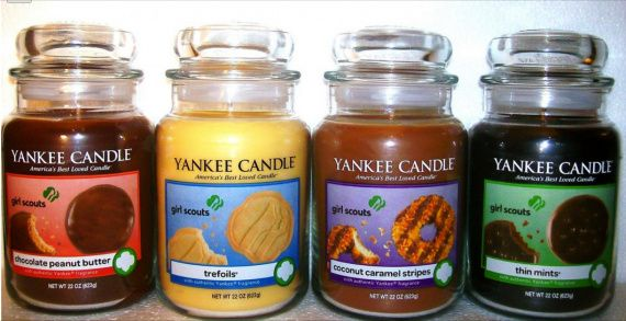 Girl Scout Cookies Yankee Candle