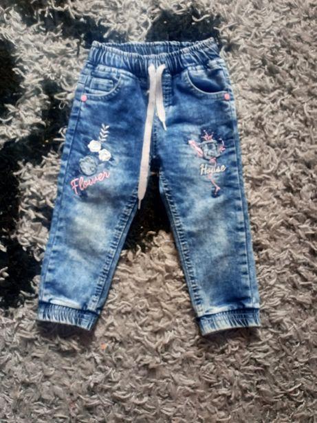 Штаны джинсы на 1-2 года
