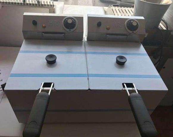 fritadeira eléctrica capacidade 6 mais 6 litros NOVA