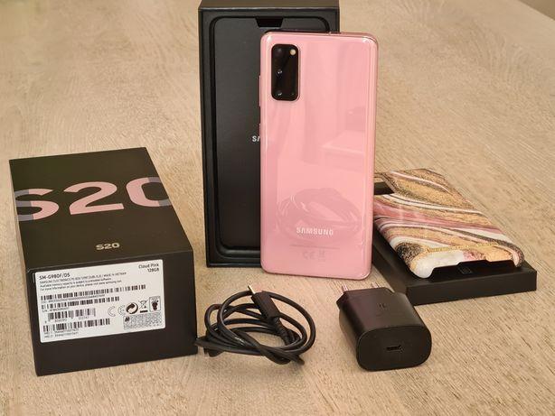 Samsung S20 128GB Pink Różowy, Gwarancja