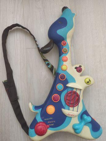 Battat музыкальная гитара собака