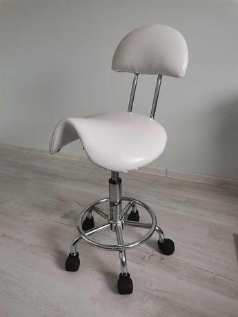 Taboret Kosmetyczny Krzesło Kosmetyczne Siodło Promocja